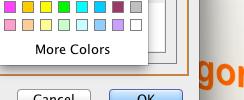 Text Color Control