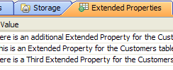SQL Server Extended Properties