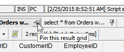 Pin Query Results