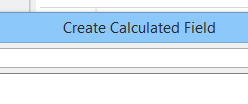 Aggregation Formulas in Calculated Fields