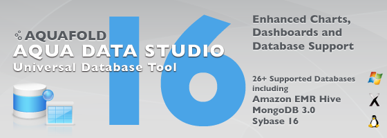 Aqua Data Studio 16.0 - Universal Database Tool