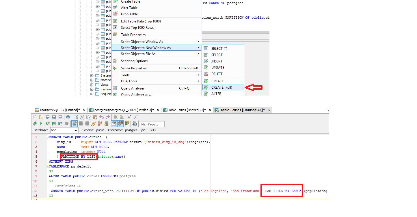 15541: Support for PostgreSQL version 10 4 | Aqua Data Studio