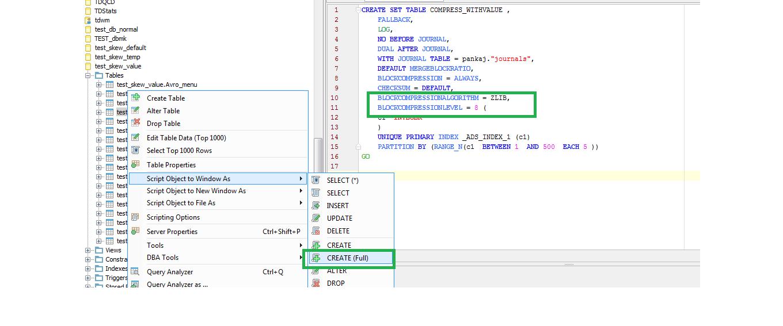 15545: Add Support for TeraData Version 16 | Aqua Data Studio