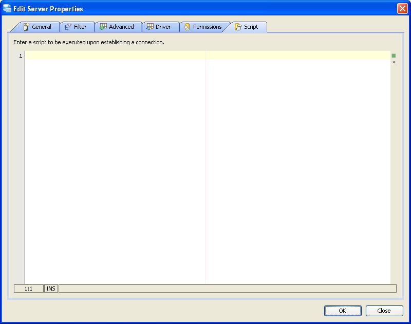Registering Server Informix