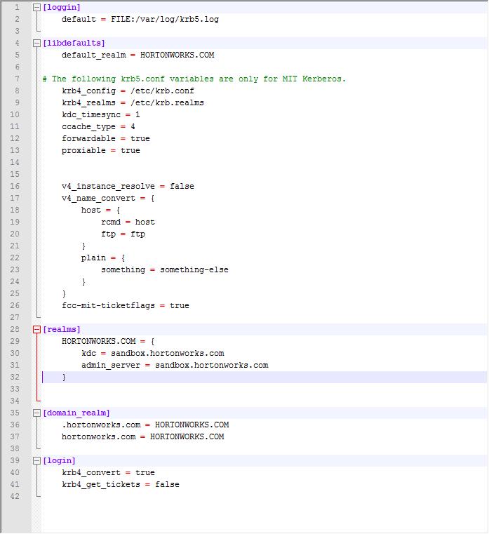 Kerberos Configuration | Documentation 17 0 | Aqua Data Studio