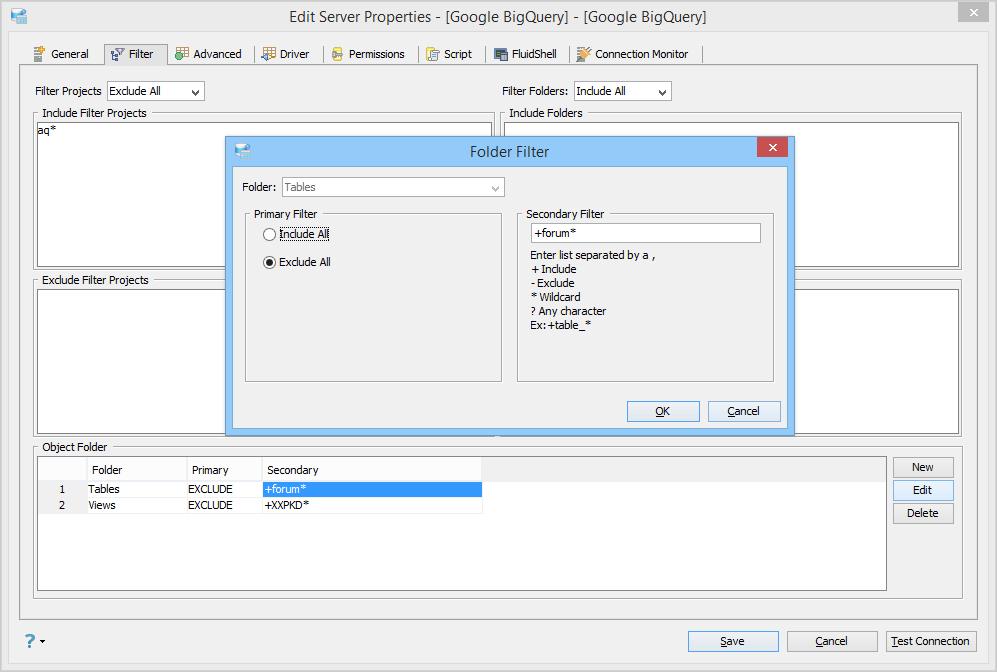 Google BigQuery | Documentation 18 0 | Aqua Data Studio