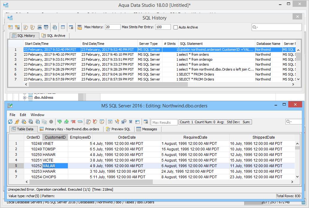 Table Data Editor
