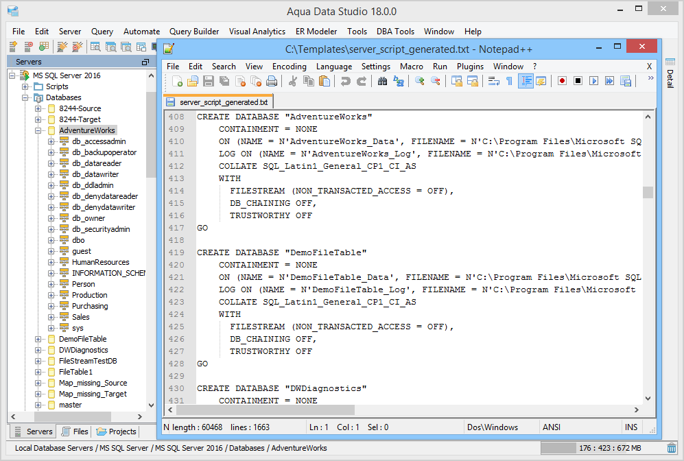 Server Script Generator