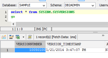 New Database Versions | New Features - Version 15 0 | Aqua